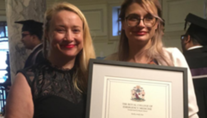 ED comford award