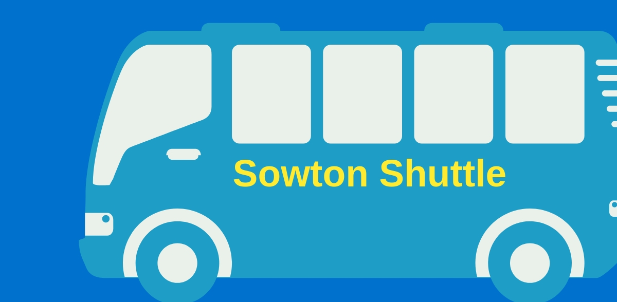 Sowton Shuttle Members site banner