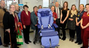 ICU LOF chair donation