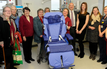 ICU LOF chair donation