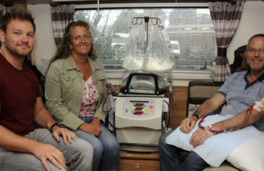 Kidney patients praise freedom and flexibility of home dialysis at information events